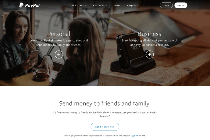 Payment | Setting up a PayPal account