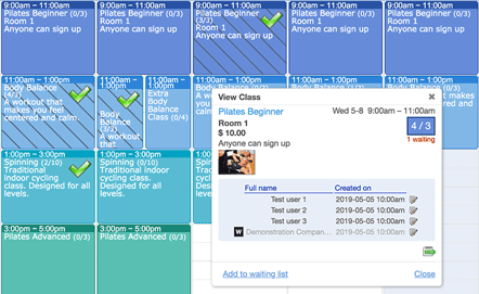 Appointment Scheduling and Reservation Booking Calendar